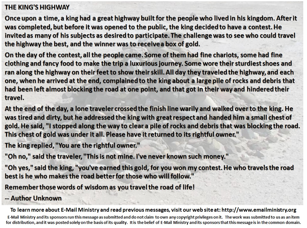 The Kings Highway
